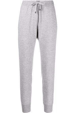 Brunello Cucinelli Ženy Tepláky - Knitted track pants