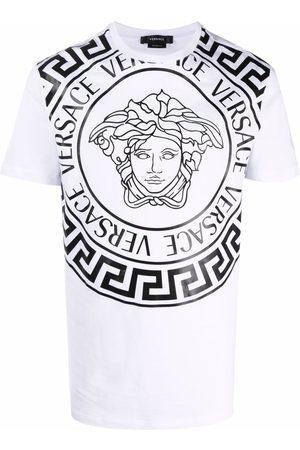 VERSACE Medusa-print cotton T-shirt