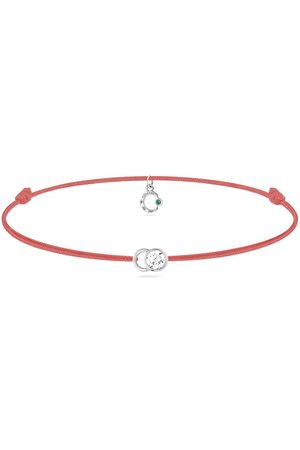 COURBET Ženy Náramky - 18kt white gold diamond Let's Commit bracelet