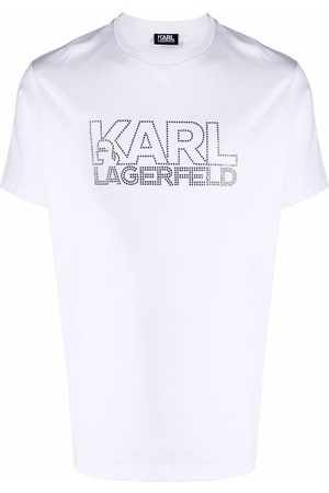 Karl Lagerfeld Logo print crew-neck T-shirt