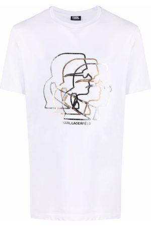 Karl Lagerfeld Karl motif crew-neck T-shirt