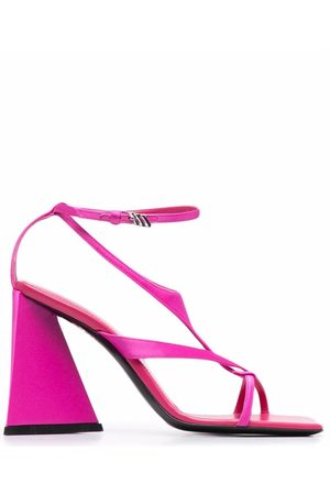 The Attico 100mm strappy sandals