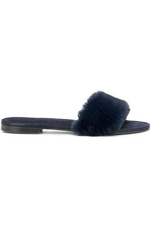 Madison.Maison Ivanka artificial fur sandal