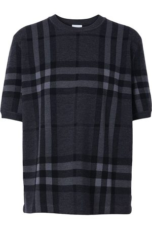 Burberry Vintage Check knitted top