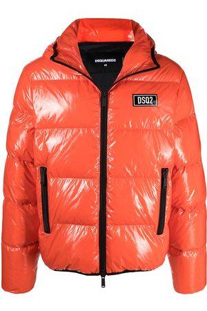 Dsquared2 High-shine padded jacket