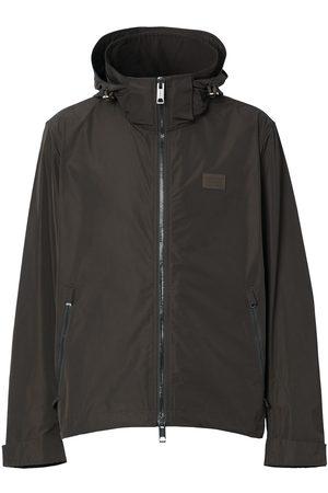 Burberry Packaway-hood rain jacket