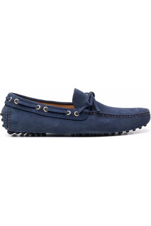 CAR SHOE Lace-up suede loafers