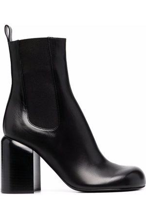 Jil Sander Ženy Nad kolena - Almond-toe knee-high boots