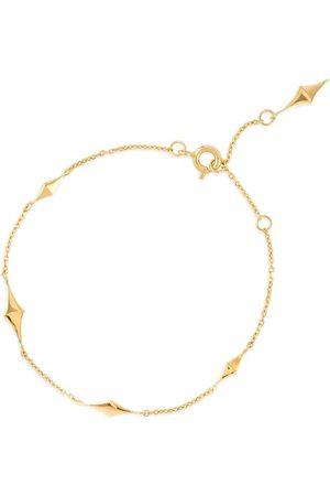Dinny Hall 22kt yellow gold-plated Almaz charm bracelet