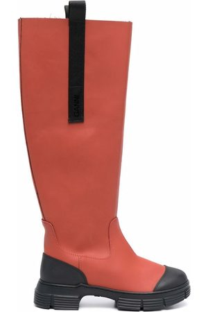 Ganni Ženy Nad kolena - Country under-the-knee boots