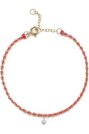 The Alkemistry 18kt yellow gold Vianna chain thread diamond bracelet