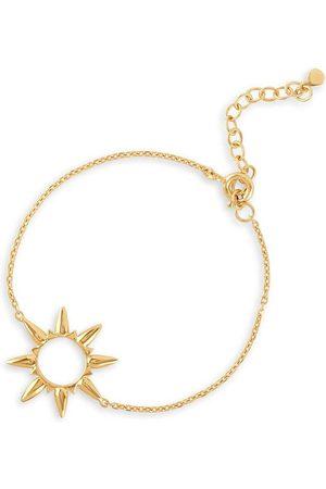Dinny Hall 22kt yellow gold Sunbeam Marie bracelet