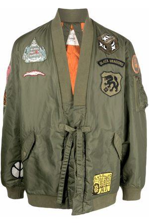 Maharishi Patch-detail bomber jacket