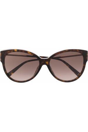 Givenchy Tortoiseshell-effect cat-eye sunglasses