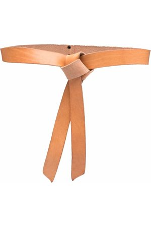 FORTE FORTE Knotted leather belt