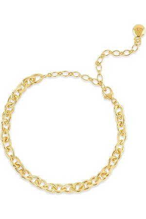 Dinny Hall Ženy Náramky - Raindrop Small chain-link bracelet