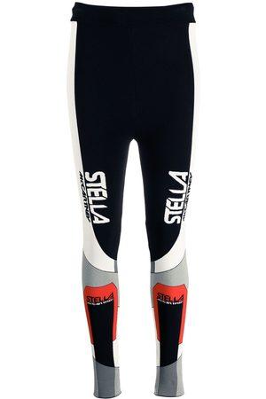 Stella McCartney Ženy Legíny - Sporty logo-print leggings