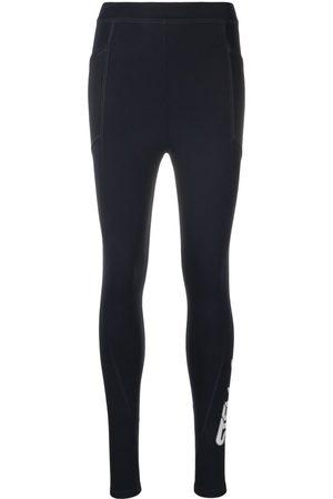 Stella McCartney Logo-print scuba leggings