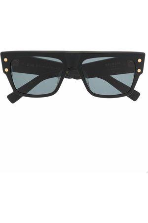 Balmain B-III square-frame sunglasses
