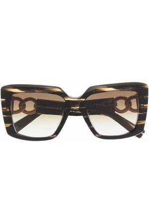 Balmain LA Royale oversize-frame sunglasses