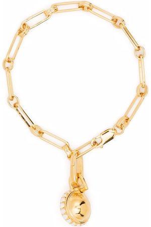 Missoma Aegis chain pavé sphere bracelet