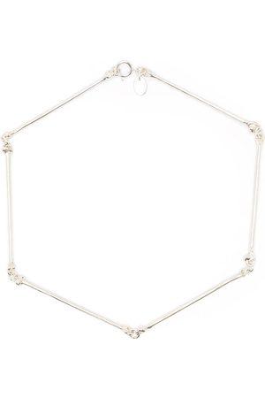 Takahiromiyashita The Soloist Bone-shaped necklace