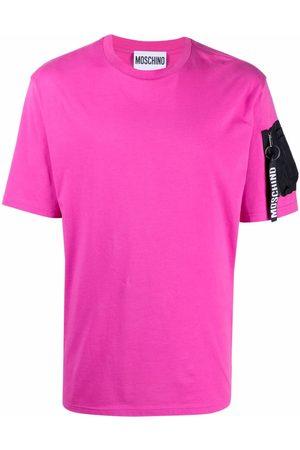 Moschino Logo-keyring short-sleeve T-shirt