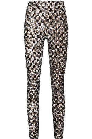 MISBHV Ženy Legíny - Lara camouflage monogram leggings