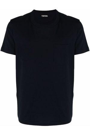 Tom Ford Chest-pocket cotton T-shirt