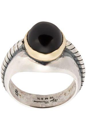 UGO CACCIATORI Muži Prstýnky - Onyx stone ring