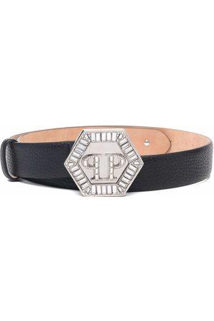 Philipp Plein Logo-buckle belt