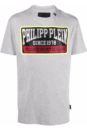 Philipp Plein Logo-print cotton T-shirt