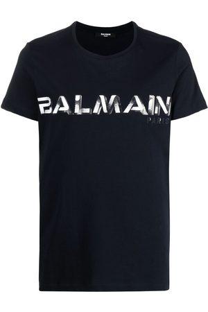Balmain Muži S krátkým rukávem - Logo-print T-shirt