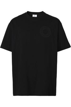 Burberry Embossed logo-detail T-shirt