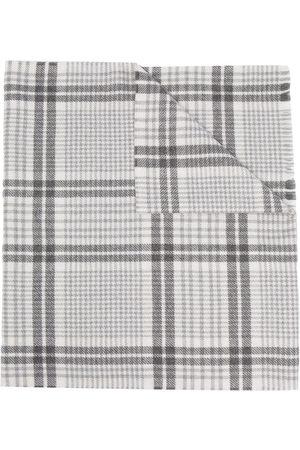 Brunello Cucinelli Plaid-check scarf