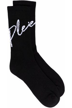 Philipp Plein Ponožky - Signature-print socks