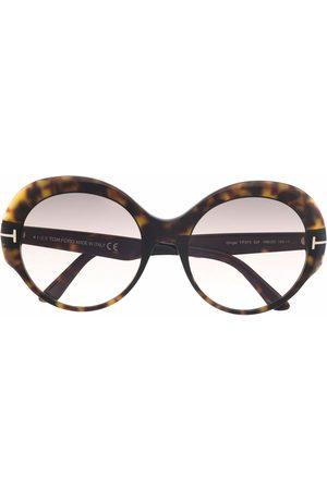 Tom Ford Ženy Sluneční brýle - Round-frame sunglasses