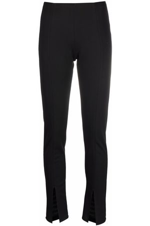 Alchemy Ženy Úzké nohavice - Front-slit slim-fit trousers
