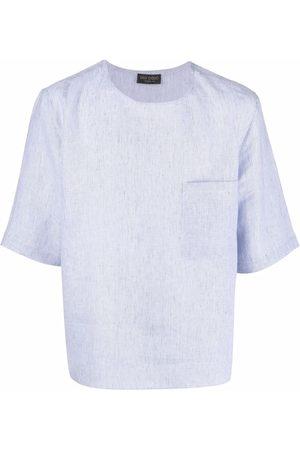 DELL'OGLIO Short-sleeve linen T-shirt
