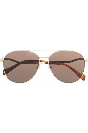 Gucci Tinted aviator sunglasses