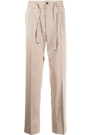 corneliani Elasticated-drawstring trousers