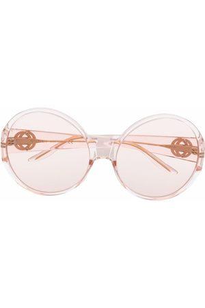 Gucci Ženy Sluneční brýle - Round-frame tinted sunglasses