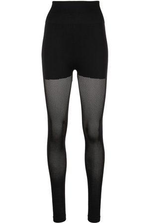 FLEUR DU MAL Seamless perforated leggings
