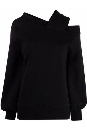Atu Body Couture Balloon-sleeve off-shoulder sweatshirt