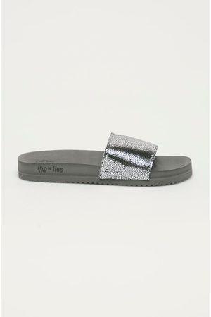 flip*flop Ženy Pantofle - Pantofle Metallic cracked