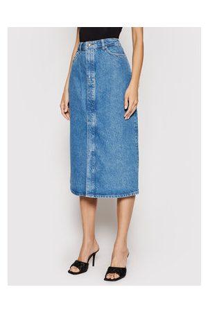 Samsøe Samsøe Ženy Džínové sukně - Džínová sukně