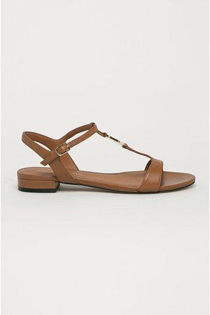 Emporio Armani Kožené sandály