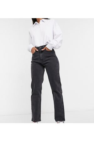 Tommy Hilfiger Ultra high rise straight in wash black