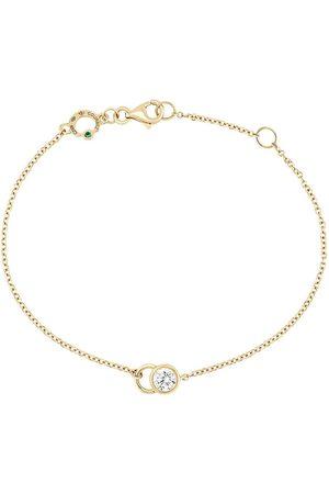 COURBET Ženy Náramky - 18kt yellow gold diamond CO chain bracelet