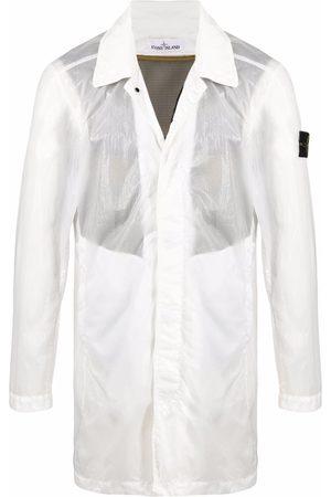 Stone Island Crinkle-effect lightweight jacket